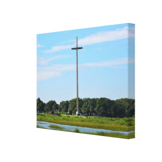 Great Cross at St. Augustine, Florida Canvas Print