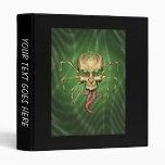 Great Cthulhu Alien Spider Skull Lovecraftian Art Binders