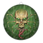 Great Cthulhu Alien Spider Skull Lovecraftian Art Dart Board
