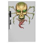 Great Cthulhu Alien Spider Skull Lovecraftian Art Dry Erase Whiteboards