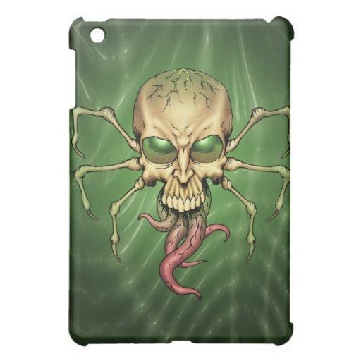 Great Cthulhu Alien Spider Skull Lovecraftian Art iPad Mini Case