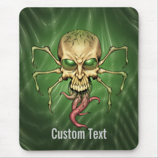 Great Cthulhu Alien Spider Skull Lovecraftian Art Mouse Pad