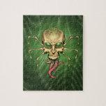 Great Cthulhu Alien Spider Skull Lovecraftian Art Puzzle