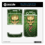 Great Cthulhu Alien Spider Skull Lovecraftian Art BlackBerry Skins