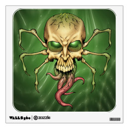 Great Cthulhu Alien Spider Skull Lovecraftian Art Wall Decal