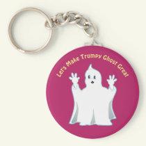 Great Cute Trumpy Ghost Keychain