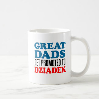 Great Dads Promoted To Dziadek Mug