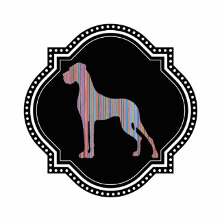 Great Dane 3d Magnet Acrylic Cut Outs