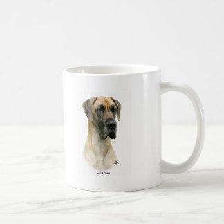 Great Dane 9Y052D-035 Classic White Coffee Mug