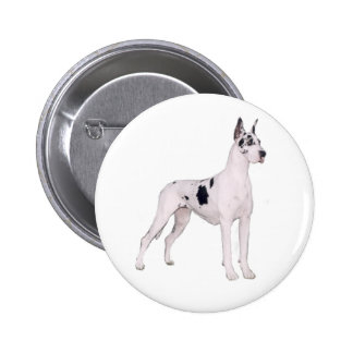 Great Dane (A) - Harlequin standing Pin
