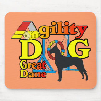 Great Dane Agility Mouse Pad