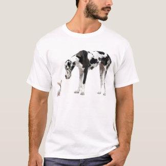 Great Dane and Chihuahua T-Shirt