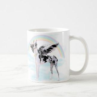 Great Dane Angel Harle Mugs