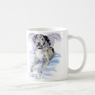 Great Dane Angel Merle UC Coffee Mug