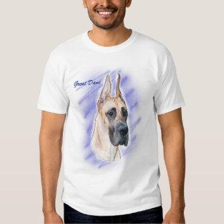 Great Dane Artwork - Fawn Dane Shirt