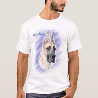 Great Dane Artwork - Fawn Dane T-Shirt