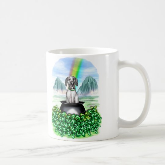 Great Dane Black UC Pot O Gold Coffee Mug