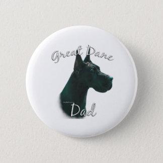 Great Dane (blk) Dad 2 Button