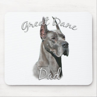 Great Dane (blue) Dad 2 Mouse Pad