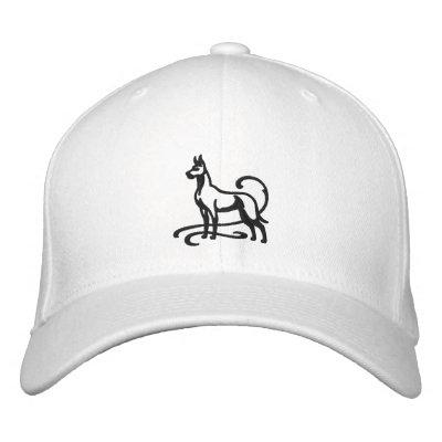 Great dane bordado gorra de beisbol bordada