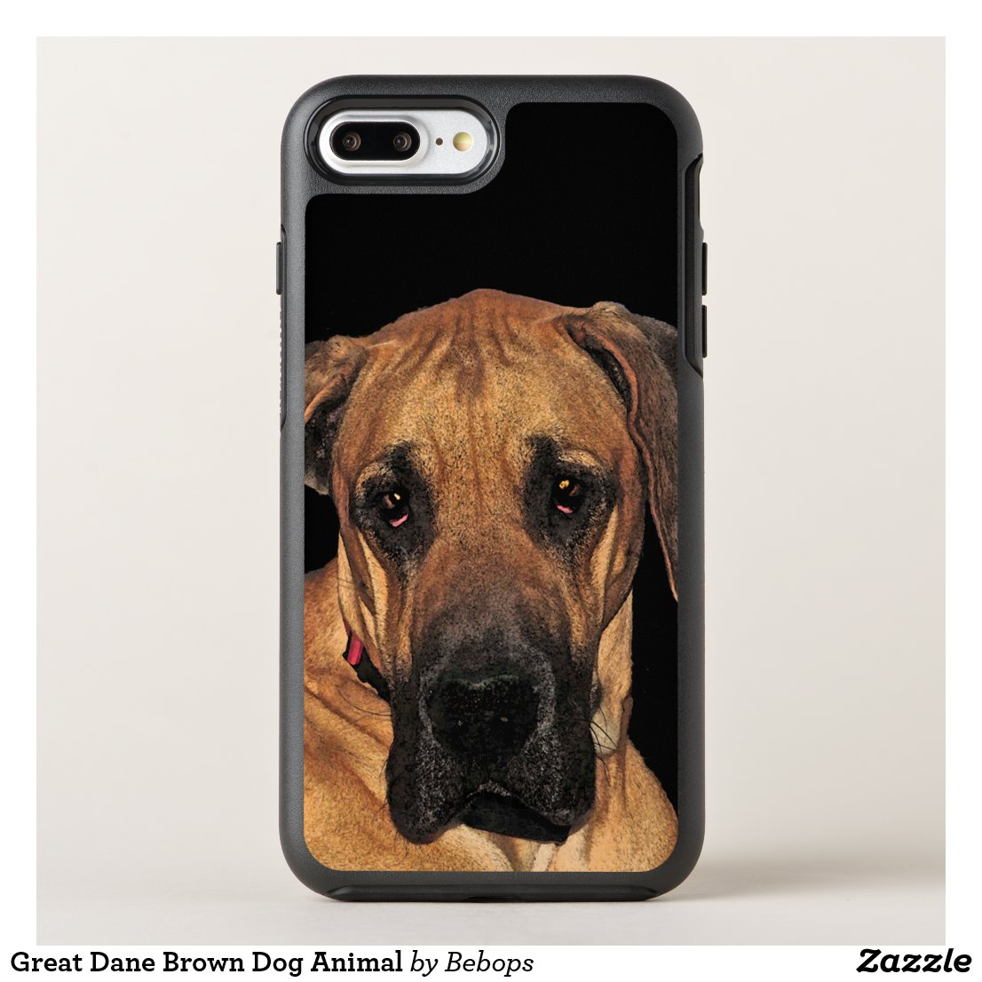 Great Dane Brown Dog Animal OtterBox Symmetry iPhone 7 Plus Case