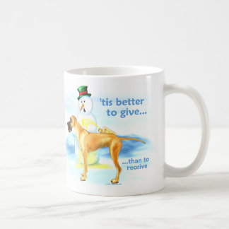 Great Dane BTG Fawn UC Coffee Mug