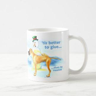 Great Dane BTG Fawn UC Coffee Mug