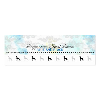 Great dane Businesscards Tarjetas De Visita Mini