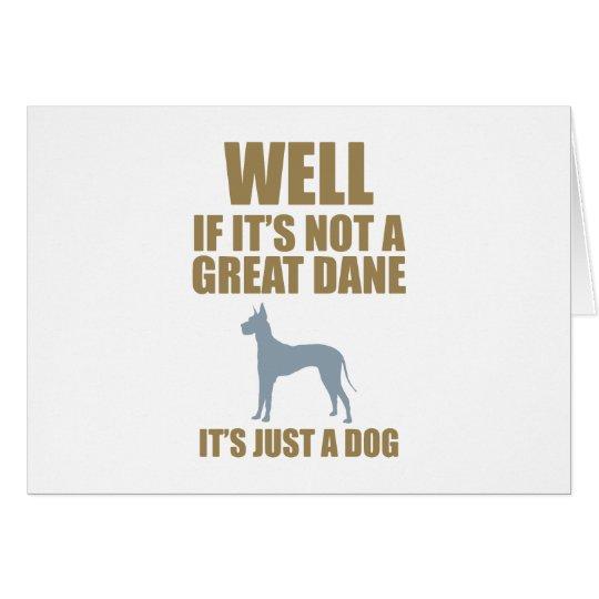 Great Dane Card