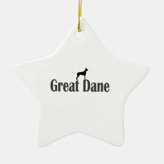 Great Dane Ceramic Ornament