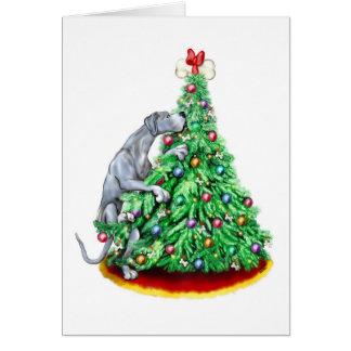 Great Dane Christmas Reach Goals Blue UC Cards
