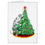 Great Dane Christmas Reach Goals Harle UC Greeting Card