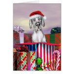 Great Dane Christmas Surprise Merle UC Cards