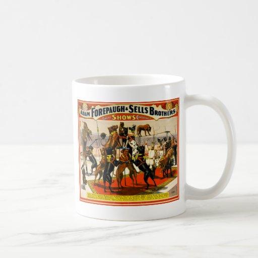 Great Dane Circus Show Classic White Coffee Mug