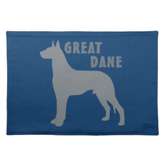 Great Dane Cloth Placemat