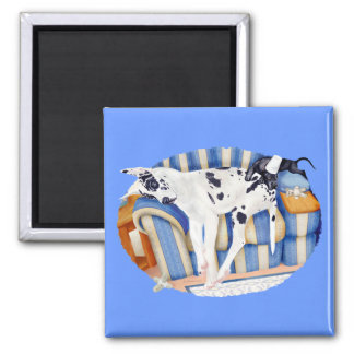 Great Dane Couch Taters Magnets