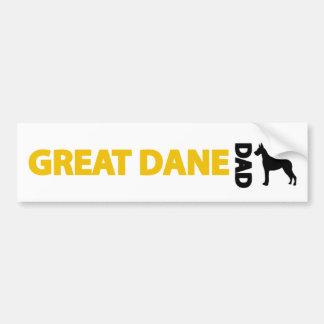 Great Dane Dad Bumper Stickers