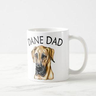 Great Dane Dad Fawn UC Coffee Mug
