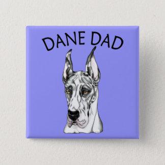 Great Dane Dad Harle Button