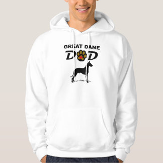 Great Dane Dad Hoodie