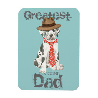 Great Dane Dad Magnet
