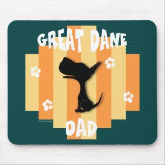 Great Dane Dad Mousepad