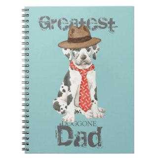 Great Dane Dad Note Books