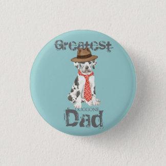 Great Dane Dad Pinback Button