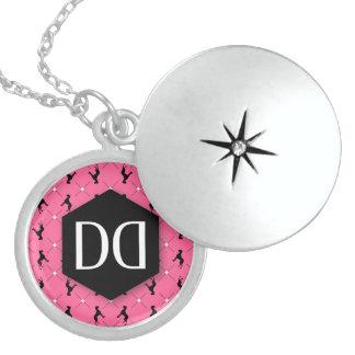 Great Dane DD Identity Round Locket Necklace