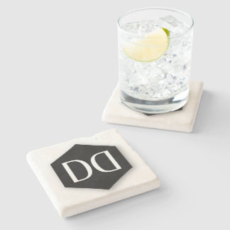 Great Dane DD Identity Stone Coaster