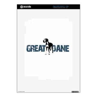 Great Dane Decal For iPad 2