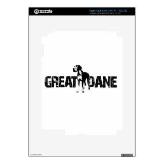 Great Dane Decal For iPad 3