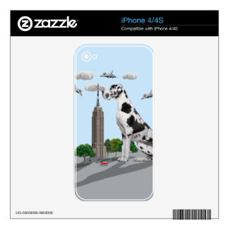 Great Dane Decals For The iPhone 4S