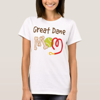 Great Dane Dog Breed Mom Gift T-Shirt